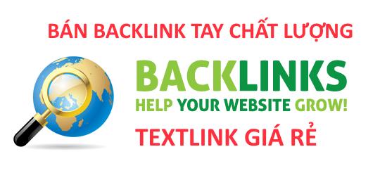 Backlink chất lượng, bán textlink giá rẻ